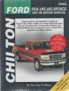 Ford Ute Pick-ups and Bronco 1987-96 Chiltons